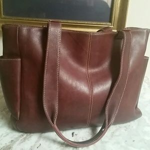 Frye Tote Marble Oiled Leather Finish